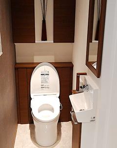 トイレの中に手洗い場を設置